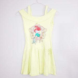 Disney Princess Ariel Little Mermaid Green Dress